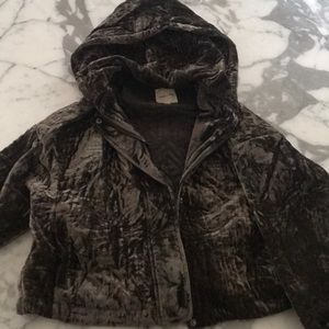 Silence and Noise hoodie jacket
